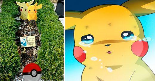 Jugando Pokemon Go llega a la tumba de su hermano y se encuentra a Pikachu