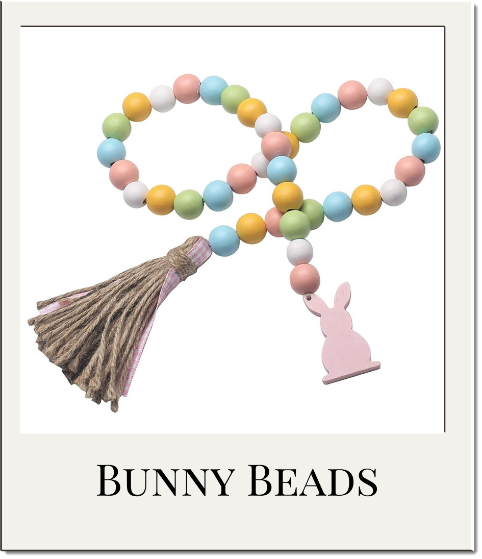 Easter Wood Beads