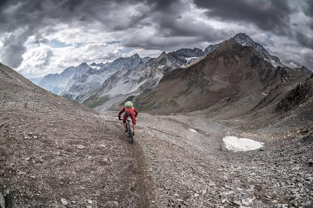 Downhill Casati Hütte Mountainbike