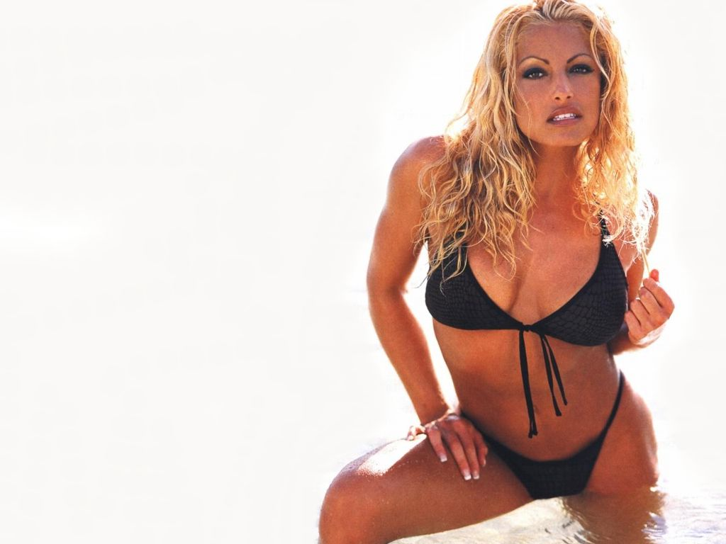 Trish boobs wwe