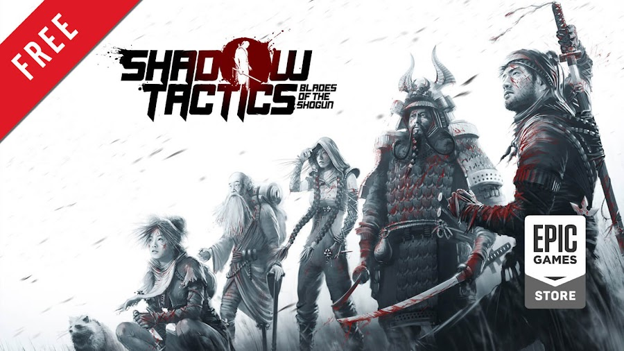 shadow tactics blades of the shogun free pc game epic games store stealth real-time tactics game mimimi productions daedalic entertainment