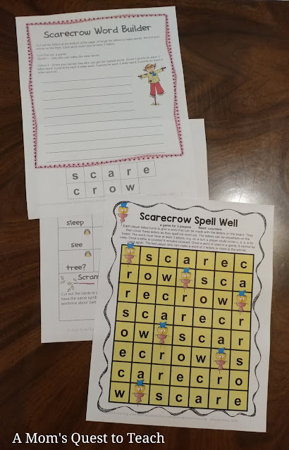 worksheets and games from SchoolhouseTeachers.com