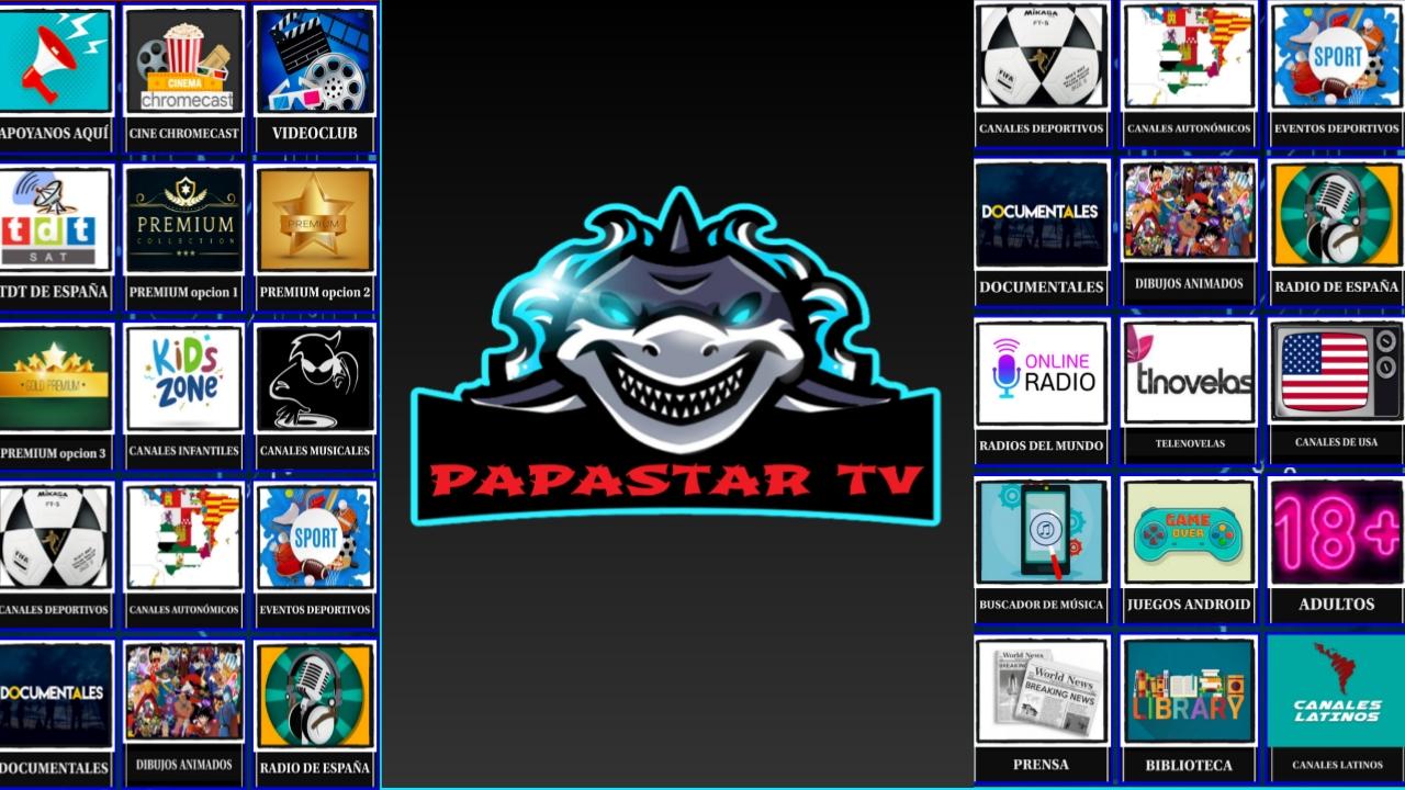 شاهد من عمق لاتينا قنواتها المجانية والمشفرة وتمتع بمحتواها مجانا/Papastar