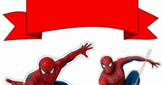 Magnificent Spiderman Free Printable Cake Toppers Oh My Fiesta For Geeks Funny Birthday Cards Online Unhofree Goldxyz