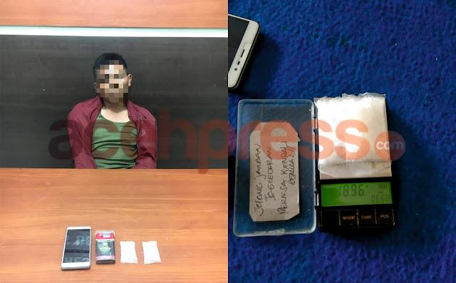 Polisi Tangkap Transaksi Narkoba di Bener Meriah