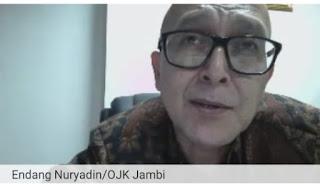 Kepala OJK Jambi Buka Edukasi Kelana Pada Unit Link-Asuransi Jiwa Untuk Para Media.