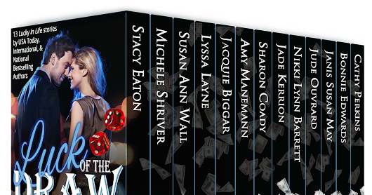 New Release! Luck of the Draw - 13 Lucky Romance and Suspense Novellas @BonnieEdwards