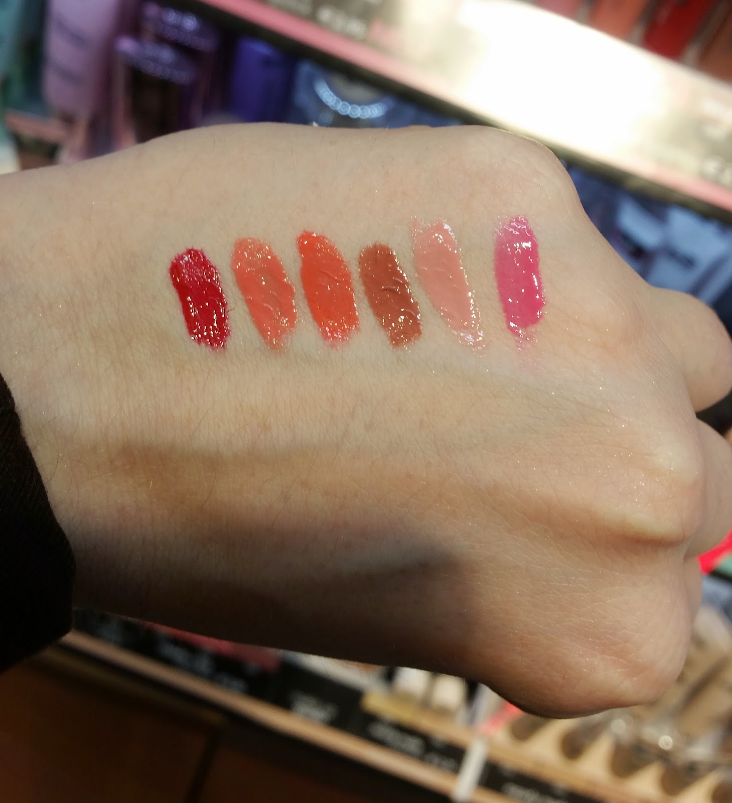sophisticated liquid lipstick, Swatch
