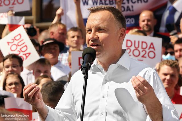 Wybory Prezydenckie 2020 - Prezydent RP - Andrzej Duda