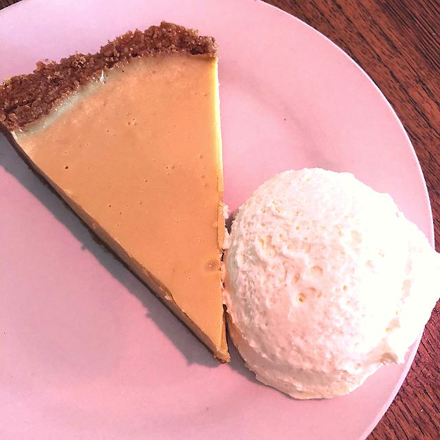 Tamales' famous Key Lime Pie!