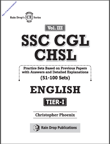 एसएससी सीजीएल सीएचएसएल वॉल्यूम- 3 टीयर- 1 (51-100 प्रैक्टिस सेट) : एसएससी सीजीएल परीक्षा हेतु पीडीएफ पुस्तक | SSC CGL CHSL Vol. III Tier-I (51-100 Practice Sets) : For SSC CGL Exams PDF Book