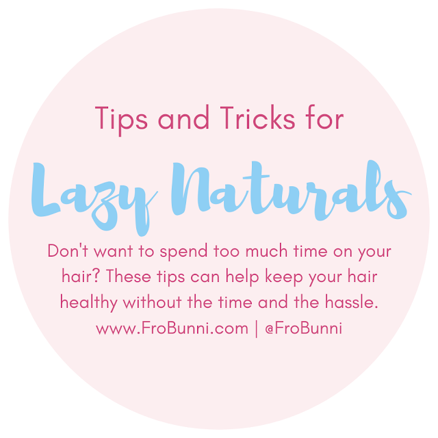Hair Tips for Lazy Naturals header image