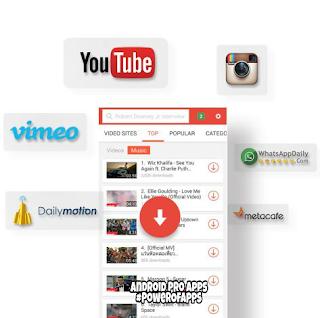 تطبيق تحميل الڤيديوهات Snaptube من اليوتيوب والفيس بوك وانستجرام