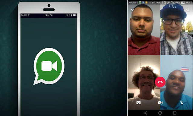 Tecnología: Videollamadas grupales en Whatsapp
