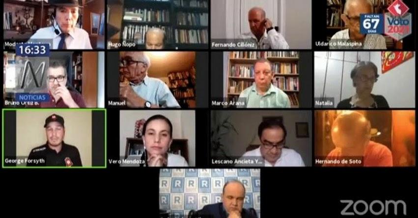 ELECCIONES GENERALES 2021: 6 Candidatos proponen reforzar la educación