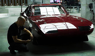 Dominic Toretto with 1969 Dodge Daytona