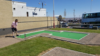 Arnold Palmer Crazy Golf course in Cleethorpes