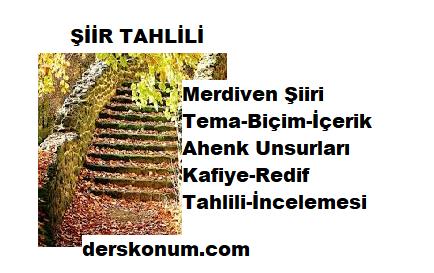 Merdiven Şiiri İncelemesi