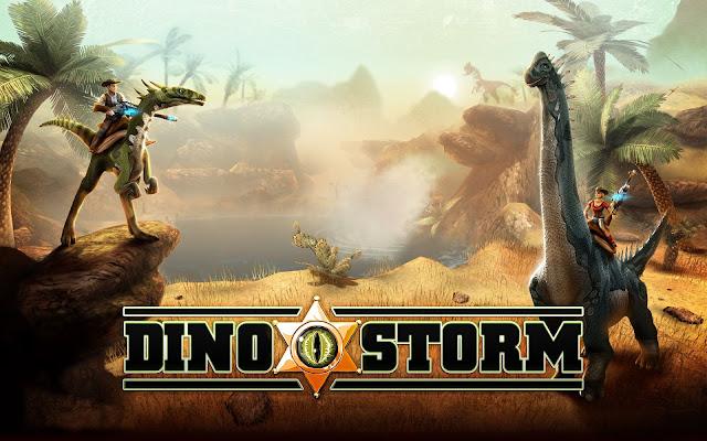 تحميل لعبة حرب الديناصورات Dino Storm للكمبيوتر برابط واحد مباشر ميديا فاير مضغوطة مجانا
