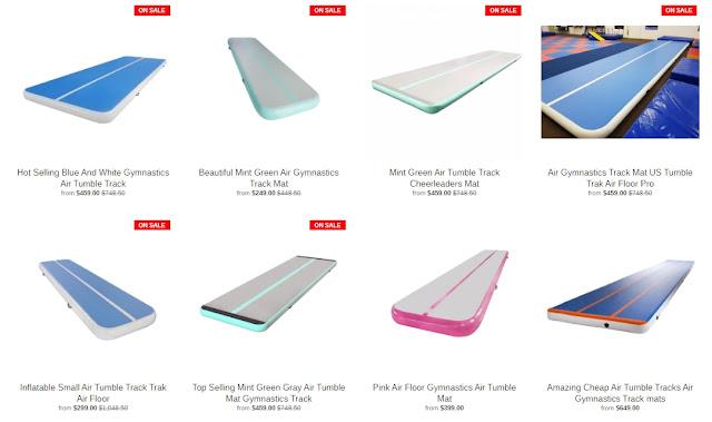 air tumble mat for home