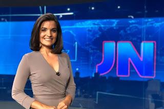 DOIS MESES: Larissa Pereira anuncia meses em que vai apresentar Jornal Nacional em 2020