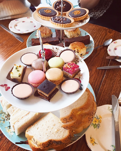 Afternoon tea at Cocoa Cabana