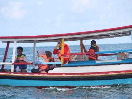 Pulau Lengkuas di Pulau Belitung