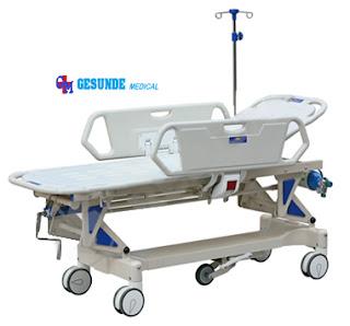 Emergency Bed YQC 2R Transfer Stretcher