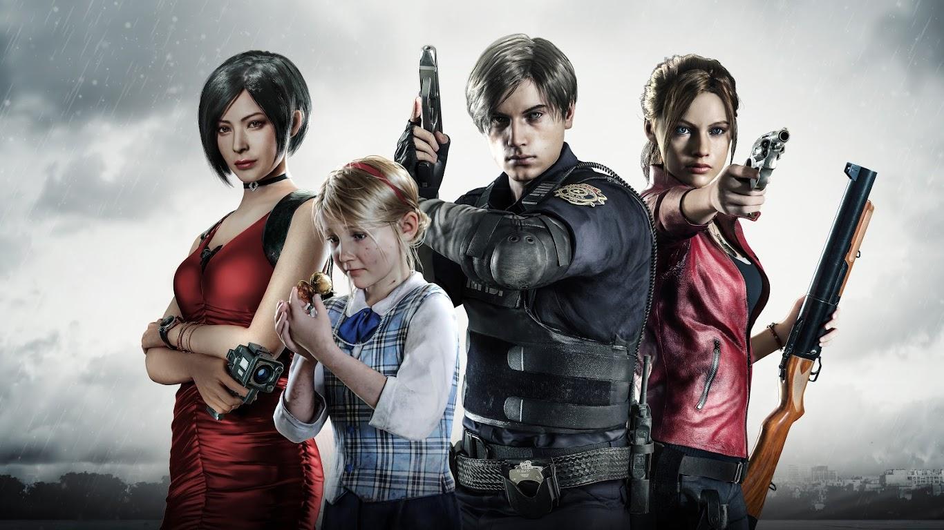 Resident Evil 2 Characters 8k Wallpaper 8