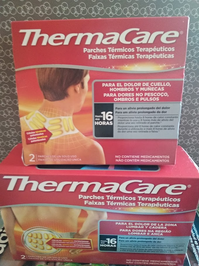 ThermaCare parches térmicos para dolores musculares y articulares