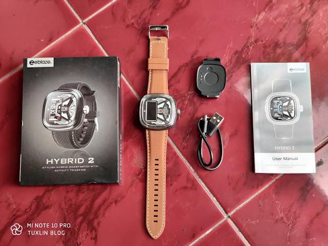 Paket Pembelian Zeblaze Hybrid 2