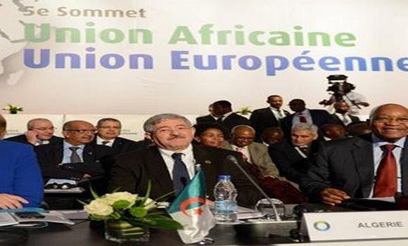 قمة الاتحاد الافريقي-الاتحاد الأوروبي: الجزائر تجدد دعمها لكل مبادرة تعاون افريقية-أوروبية لمكافحة الارهاب
