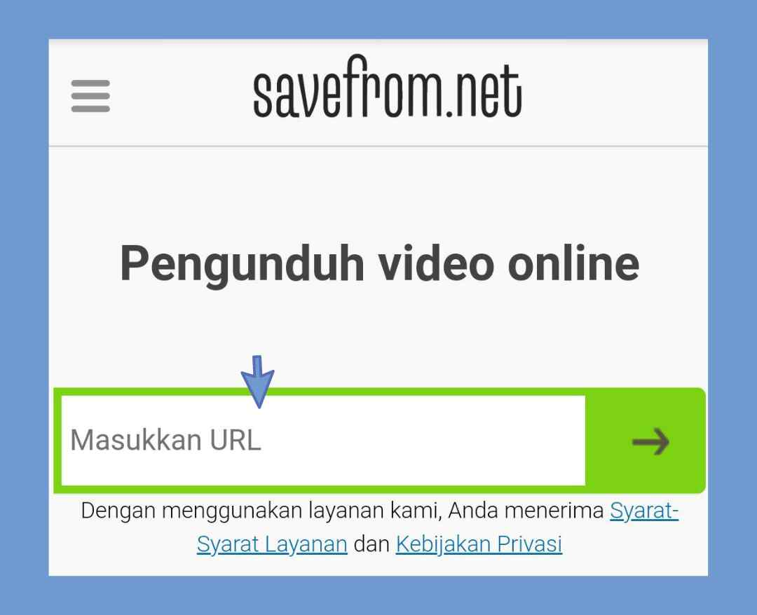 Cara download video facebok di hp android