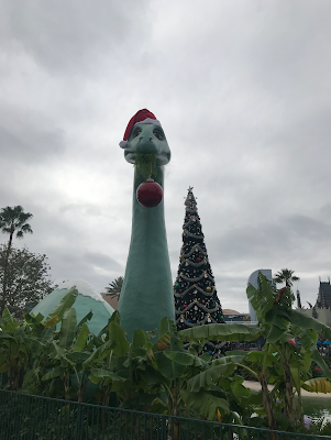Santa Gertie Christmas Tree Echo Lake Disney's Hollywood Studios