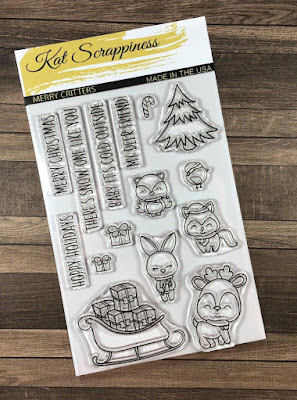 Merry Critters Stamp Set.