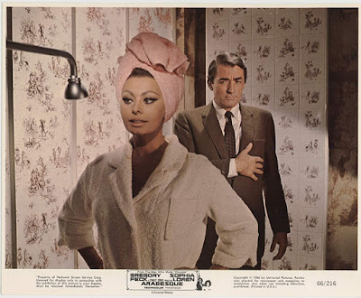 Arabesque 1966 Gregory Peck Sophia Loren Image 10