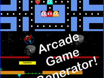 A Simple Tool to Help Teachers Create Their Own Arcade Games