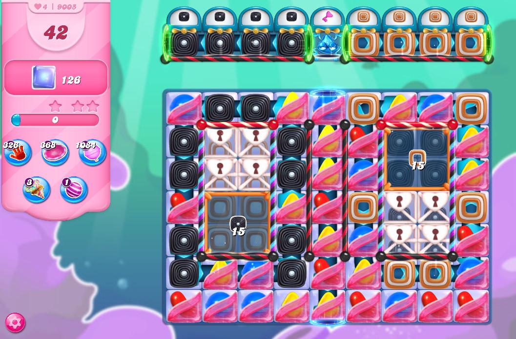 Candy Crush Saga level 9005