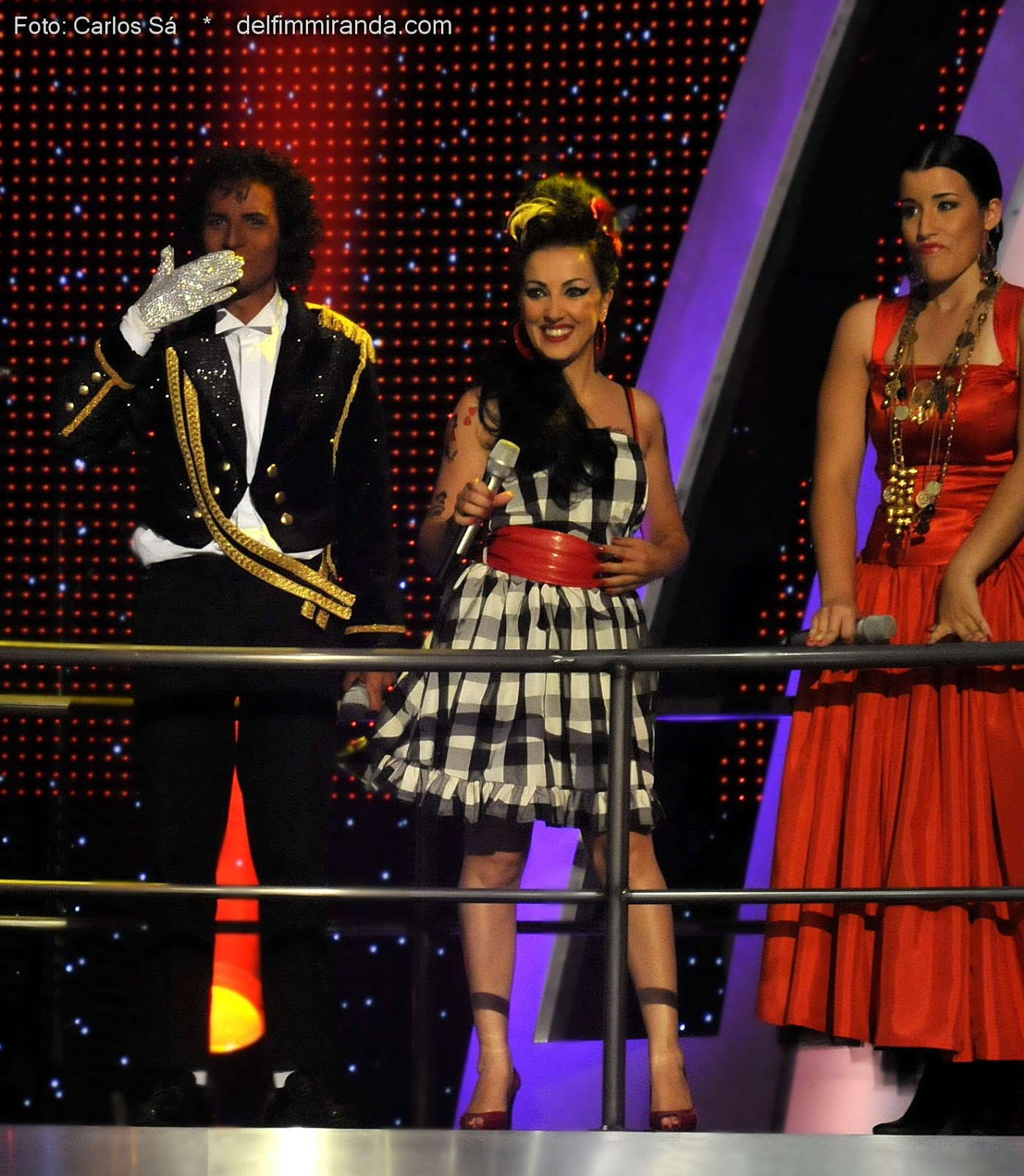 Delfim Miranda - Michael Jackson Tribute - Legens on TV - Michael Jackson - Amy Whinehouse - Nelly Furtado