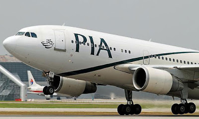 Military jets escort Pakistan International Airlines flight into London