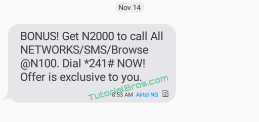 Airtel 20X Bonus is an irresistible offer to all Airtel subscribers