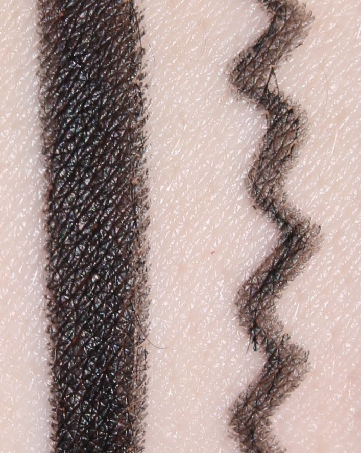 ZA Gel Eyeliner - BK999 Real Black Swatches & Review