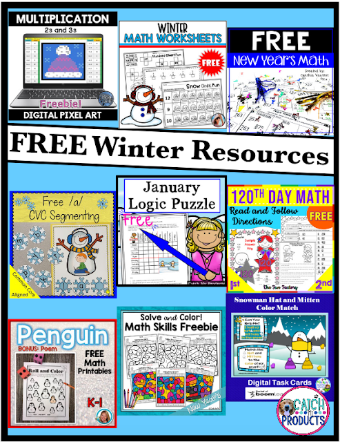 Variety of FREE teaching resources from Teachers Pay Teachers