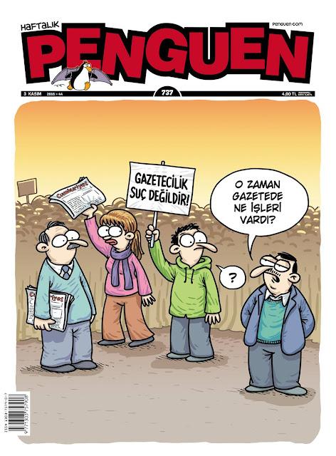 Penguen Dergisi | 3 Kasım 2016 Kapak Karikatürü