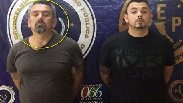 """Capturan a """"El Viejon"""" jefe del escuadrón de """"Los Erres"""" al servicio de El CJNG en Tijuana, Baja California, antes lo hacían para El CAF y después para El CDS"""