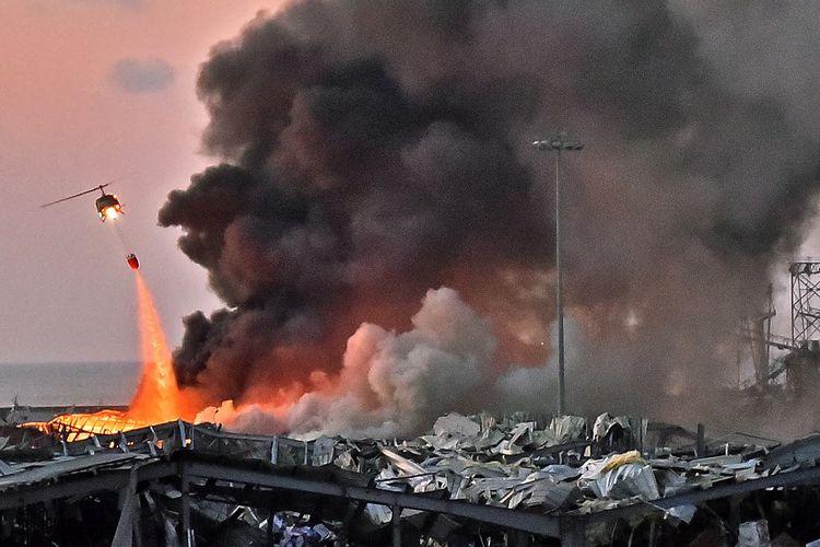 Ngeri, Penyebab Ledakan di Beirut Diduga Bahan Peledak Berkekuatan Tinggi, naviri.org, Naviri Magazine, naviri majalah, naviri
