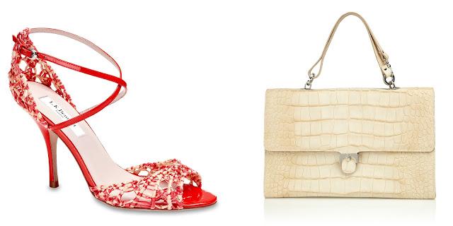L K Bennett Zahara Wedge Heeled Court Shoes Metallic Cream