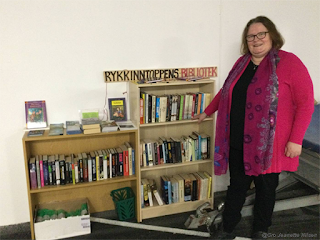 Gro Jeanette Nilsen besøker Rykkinntoppens bibliotek!