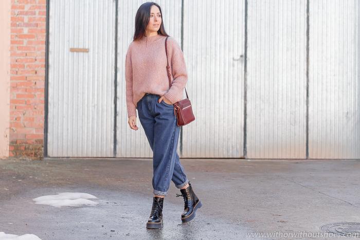 Tendencias: Cómo combinar unos Pantalones vaqueros Slouchy jeans de zara