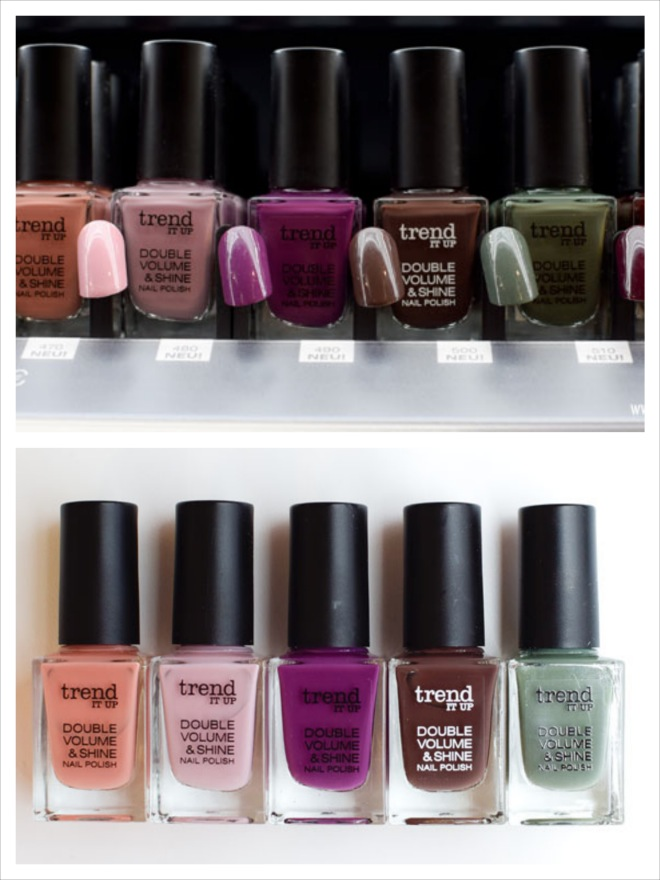 trend IT UP Double Volume & Shine Nagellack, neues Sortiments Update